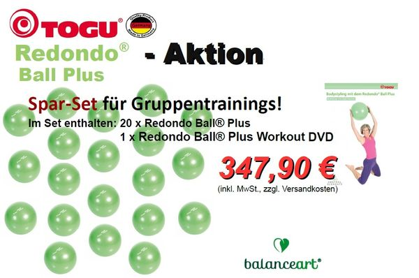 Redondo Ball® Plus - Spar-Set 2 - für Gruppentrainings