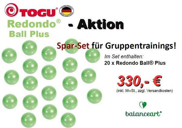 Redondo Ball® Plus - Sparset 1 -  für Gruppentrainings